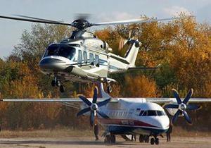 Журналистов заставили стереть фото вертолета Януковича