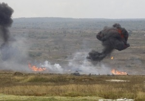новости Львова - Янукович - ракета - взрыв - Во время визита Януковича во Львов противотанковая ракета попала в озеро, убив всю рыбу - источник