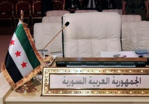 Дамаск настаивает на смене власти в Сирии только при участии Асада