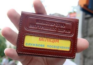 В киевском отделении милиции умер человек