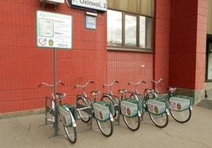 новости Киева - велосипед - Русановка - Киевляне смогут ездить к метро на арендованных велосипедах