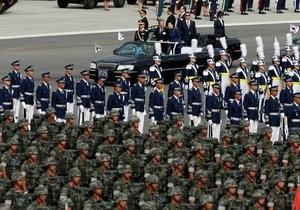 В Южной Корее прошел крупнейший за 10 лет военный парад