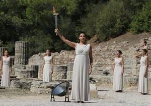В Греции зажгли огонь Олимпиады в Сочи