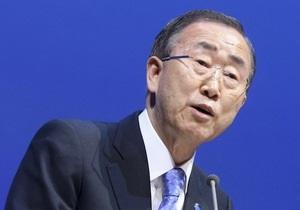 Сирия - Генсек ООН призвал сирийских мятежников представить единую делегацию на Женеве-