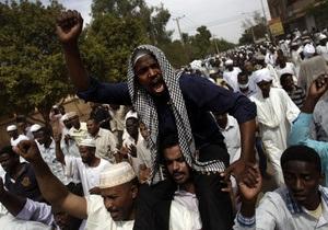Протесты в Судане: В ходе беспорядков задержаны 600 человек
