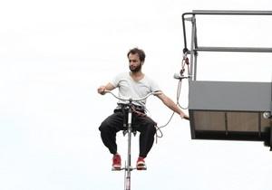 Новости Бельгии: В Бельгии представили самый высокий в мире велосипед