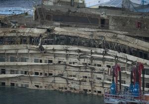 На месте крушения Costa Concordia спустя полтора года найдены останки тел