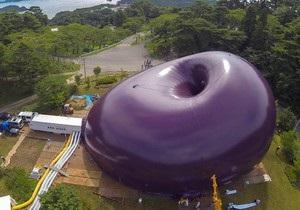 В Японии готовится к открытию гигантский надувной концертный зал