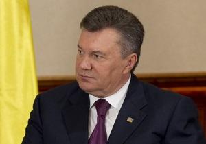 Янукович подписал указ о проведении выборов в проблемных округах