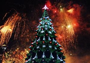 новости Киева - Новый год - елка - Всем понравилось. Киев встретит 2014-й с прошлогодней елкой