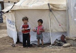 Сирийские беженцы в Ливане: дети без детства - видео