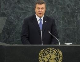 Янукович в очередной раз убеждал мировое сообщество, что Украина поможет выбраться ЕС из кризиса