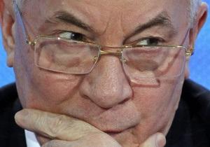 Успокоить Москву. Азаров обсудит с Медведевым волнующие РФ пункты СА Киева с ЕС