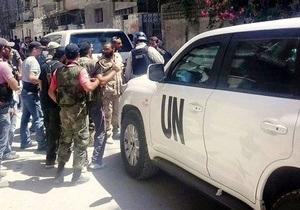 Эксперты ООН по химоружию вернулись в Дамаск
