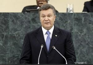 Янукович недоволен, что российские СМИ  унижают Украину