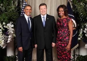 Янукович рассказал, о чем общался с Обамой
