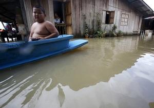 В результате продолжительных ливней в Таиланде пострадали более 600 тысяч человек