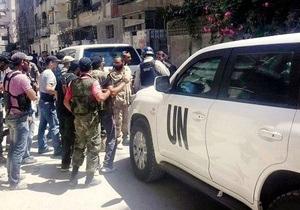 Война в Сирии - Эксперты ООН вернутся в Сирию уже в среду - МИД России