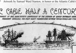 Судьба первого трансатлантического телеграфного кабеля
