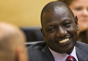 Международный суд разрешил вице-президенту Кении вернуться в страну из-за ситуации с бойней в Найроби