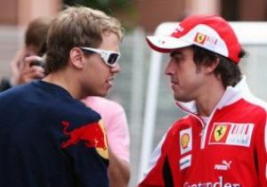 Формула-1. Феттель без труда выиграл Гран-при Сингапура
