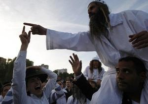 новости Умани - В этом году Умань приняла рекордное количество паломников-хасидов