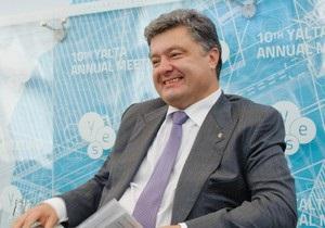 Порошенко: Нам уже не требуется так много российского газа, как ранее