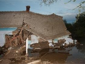Одесская область - наводнение - потоп - пенсионер - В Одесской области пенсионер провел трое суток в затопленном доме