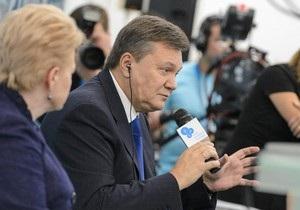 Янукович в Ялте рассказал об освобождении Тимошенко