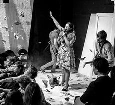 Сегодня на ГогольFest состоится перформанс БалетКИ и представление Гогольревизор