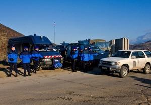 Обстрелян автомобиль миссии Евросоюза в Косово