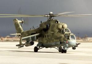 Падение военного вертолета в Крыму: новые подробности