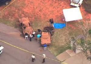 Новости США - В США со дна озера достали два автомобиля с останками шести тел, затонувшие 40 лет назад