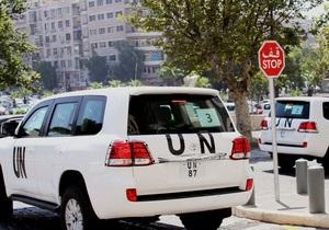 Война в Сирии - Эксперты ООН по химическому оружию вернутся в Сирию в ближайшее время