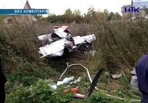 В Ивано-Франковской области разбился самолет: двое погибших