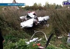 В Ивано-Франковской области разбился спортивный самолет. Есть жертвы