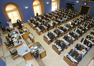 Эстонские депутаты отклонили инициативу о переводе законов на русский язык