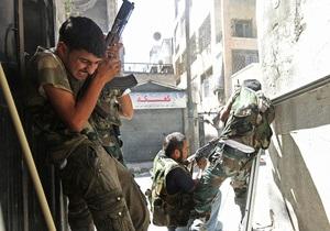 Война в Сирии - Под Дамаском идут ожесточенные бои, более 40 убитых