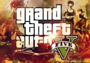 Запуск новой серии самой дорогой видеоигры истории начался скандалом - gta v - grand theft auto