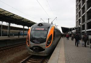 Поезд Hyundai сообщением Киев - Донецк получил новую остановку