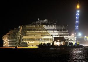 на подъем Costa Concordia потратили более 600 млн евро+-