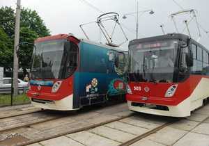 В Киеве на линии скоростного трамвая появится бесплатный Wi-Fi