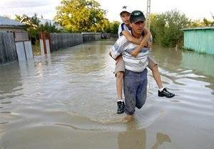 наводнение - потоп - погода - Спасатели предупреждают о поднятии уровня воды в реках в западных областях