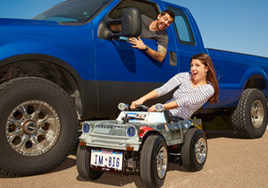 Самый маленький автомобиль - Книга рекордов Гиннесса - Создан самый маленький в мире дорожный автомобиль