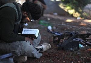 Половина сирийских повстанцев являются радикальными исламистами - исследование