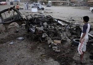 По Ираку прокатилась волна взрывов