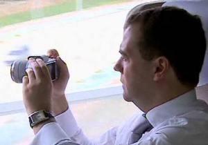 Медведева обвинили в краже фото для Instagram