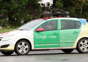 В Индонезии автомобиль от Google Street View за день трижды попал в аварию