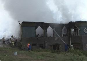 Спасатели завершили разбор завалов на месте пожара в новгородском психоневрологическом интернате
