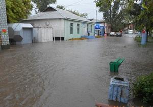 новости Одесской области - потоп - прорыв дамбы - Потоп в Одесской области: милиционеры вытащили мужчину из водоворота